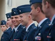 Twenty-one lieutenants received their pilot wings during Class 16-12's graduation ceremony July 29 at Vance Air Force Base. (U.S. Air Force photo/ Staff Sgt. Nancy Falcon)