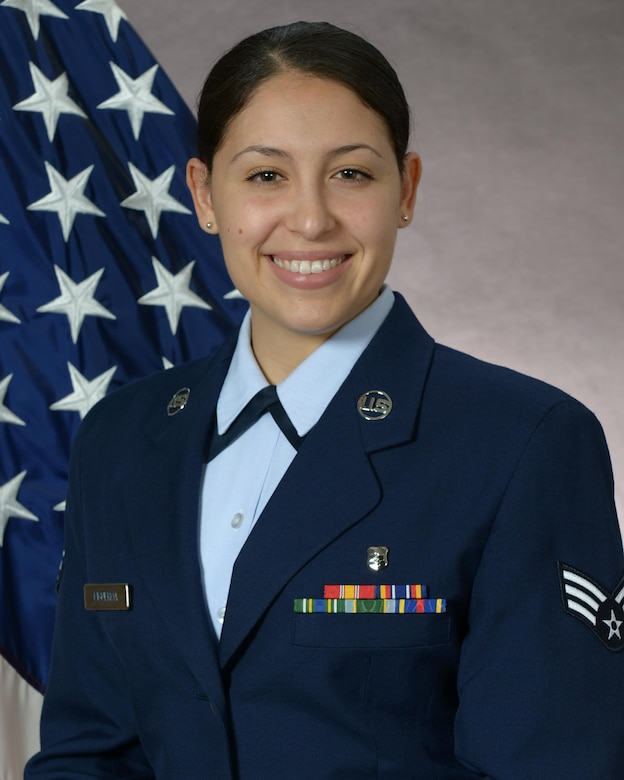 Senior Airman Jasmin Figueroa, 51st Medical Operations Squadron emergency services technician, was selected as one the 12 Outstanding Airmen of the Year for 2016 at Osan Air Base, Republic of Korea. The award recognizes 12 outstanding enlisted service members for superior leadership, job performance, community involvement and personal achievements. (U.S. Air Force photo)