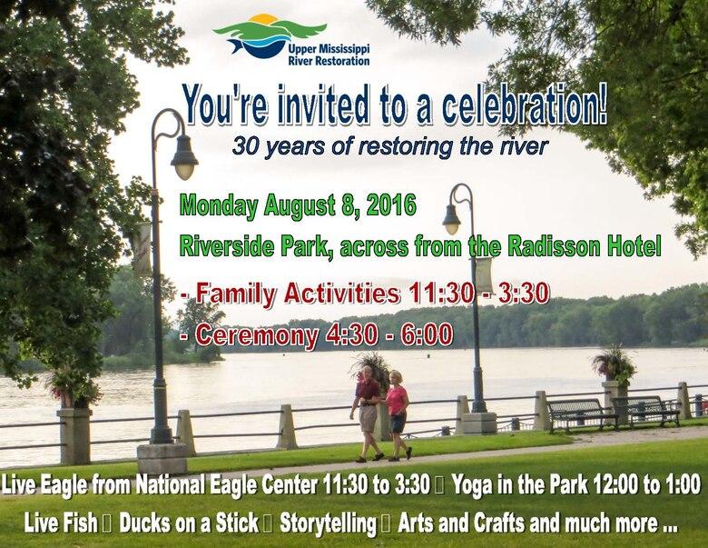 Upper Mississippi River Restoration Celebrates 30 Years
