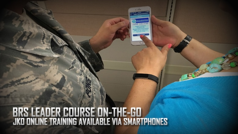 Mobile training on the Blended Retirement System provides leaders with a working knowledge of the BRS as well as a handy pocket training guide for both leaders and Airmen. Quality education and training are key to an Airman's ability to make an informed decision about retirement plans. (AFPC courtesy graphic)