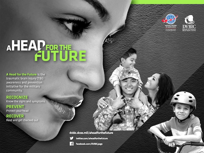 A Head for the Future is the traumatic brain injury awareness and prevention initiative for the military community.