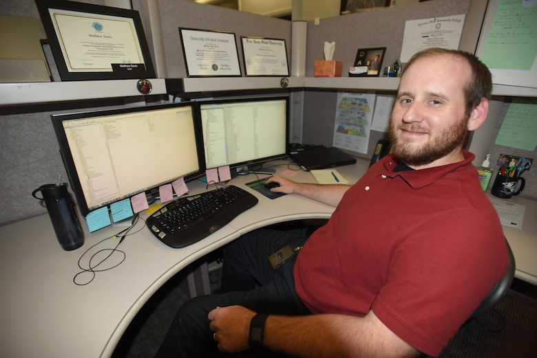 Matthew Davis, a Geospatial Information Systems specialist, assigned to Engineering Construction Division's Hydraulics and Hydrology Branch, is the U.S. Army Corps of Engineers Nashville District employee of the month for June 2016.