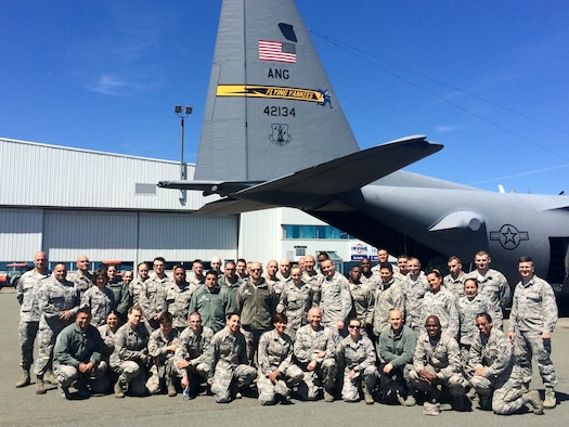 Photo courtesy of Lt. Col. Kristine Graham, 103rd Force Support Squadron commander