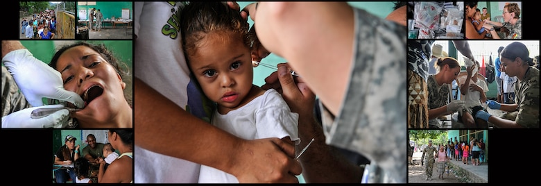 Service members from the Joint Task Force-Bravo Medical Element treated more than 1,000 patients during a Medical Readiness Training Exercise operation in Trujillo, Honduras, July 28-29, 2016. MEDEL conducts MEDRETEs throughout Central America to provide a variety of medical services to the local populations, who otherwise would be unable to receive medical care from licensed providers. (U.S. Air Force photos by Staff Sgt. Siuta B. Ika)