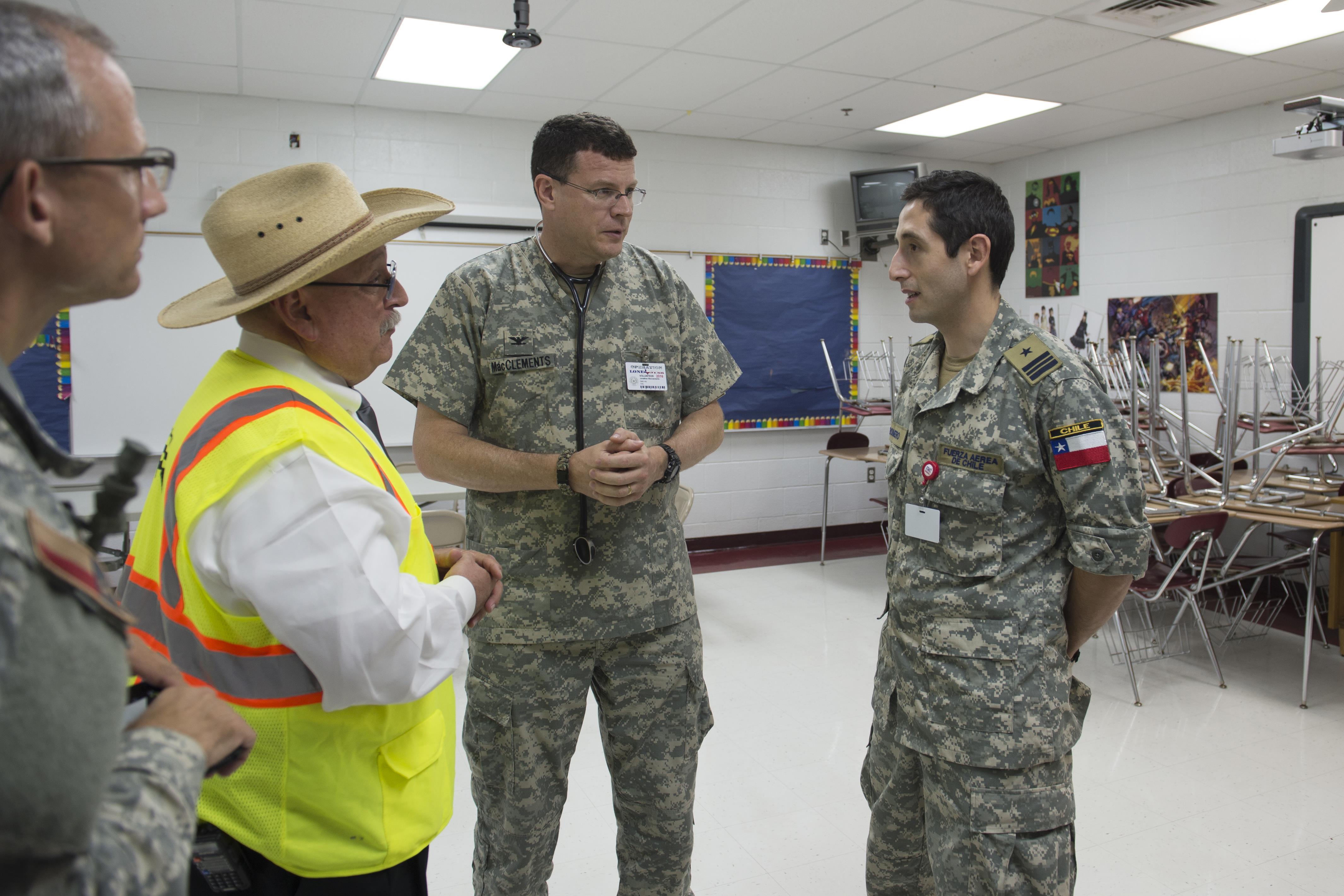Texas Guard hosts Chilean partners during Operation Lone ...