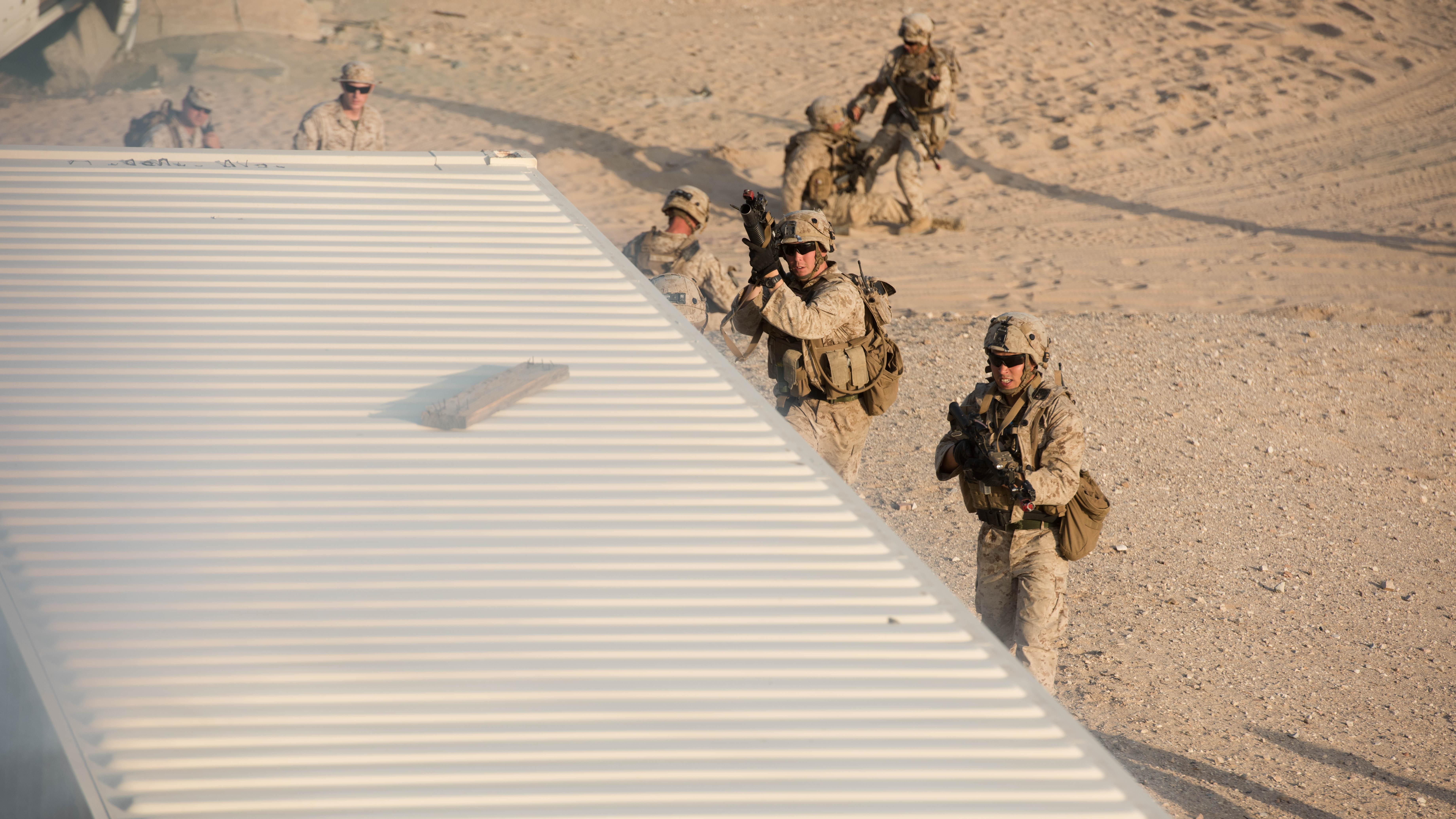 Darkhorse Marines Assault California During Magtf Integrated