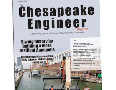 View the Summer 2016 Chesapeake Engineer Magazine to discover projects and employees from around Baltimore District.