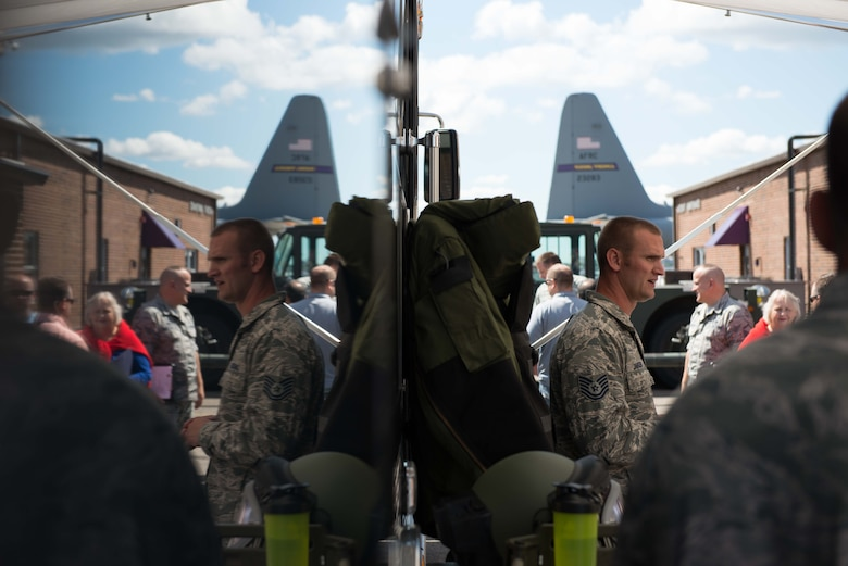 Civilian employers of Reservists got a close up look at the 934th Airlift Wing mission during Employers Day Aug. 6.