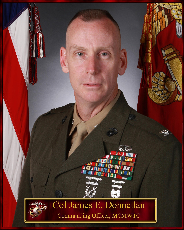 Colonel James E Donnellan Gt Marine Corps Mountain Warfare
