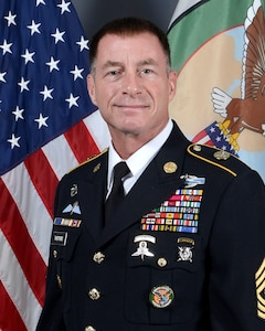 Official photo of Command Sergeant Major William F. Thetford, CSEL for CENTCOM