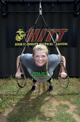 2nd Lt. Delaney T. Bourlakov, adjutant, Marine Corps Logistics Base Albany, will represent the installation at the second annual High Intensity Tactical Training Athlete Championship, Aug. 15-18, at Marine Corps Air Station Miramar, San Diego, Calif.