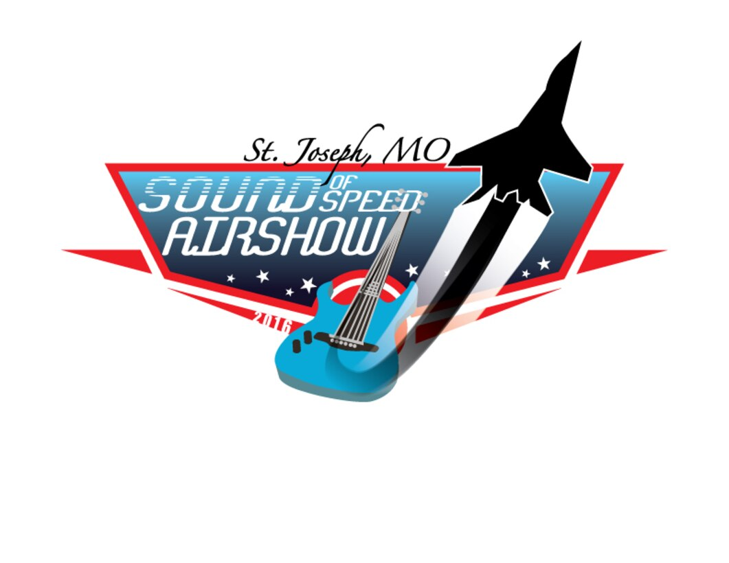 Official logo for the 2016 Sound of Speed Air Show which is Aug. 27 & 28!