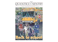 The Quantico Sentry edition for August 11, 2016, covers back to school information onboard MCBQ and other student based articles for families preparing for upcoming school year.