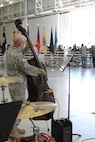 1st Infantry Division Band performing at Vietnam Veterans Welcome Home Ceremony June 8, 2016 during Victory Week at Fort Riley.