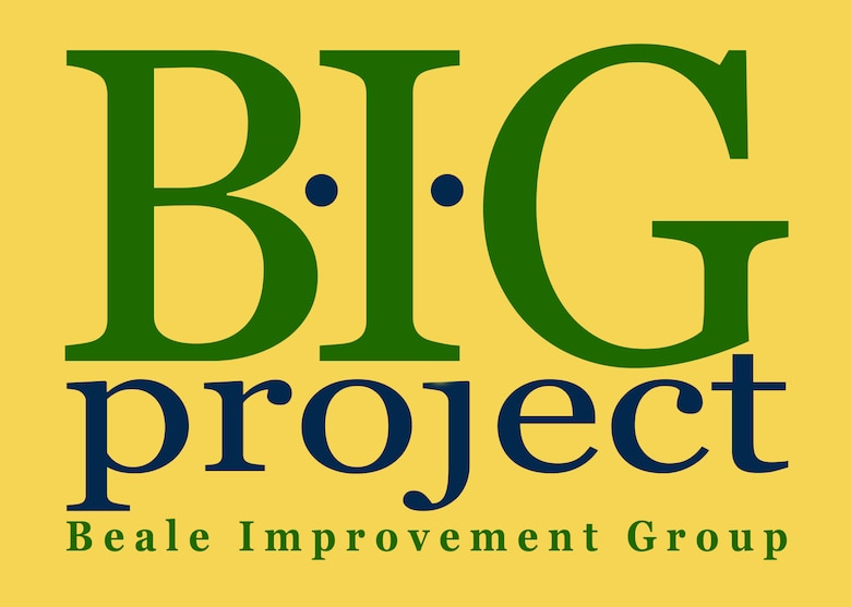 """The """"B.I.G Project"""" or Beale improvement Group is a new share-point based discussion board that will allow members of Team Beale to post and respond to questions, concerns and process improvement ideas. The site is available to all individuals on base that have NIPR network access. (U.S. Air Force illustration by Staff Sgt. Jeffrey M. Schultze)"""