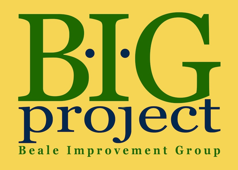 "The ""B.I.G Project"" or Beale improvement Group is a new share-point based discussion board that will allow members of Team Beale to post and respond to questions, concerns and process improvement ideas. The site is available to all individuals on base that have NIPR network access. (U.S. Air Force illustration by Staff Sgt. Jeffrey M. Schultze)"
