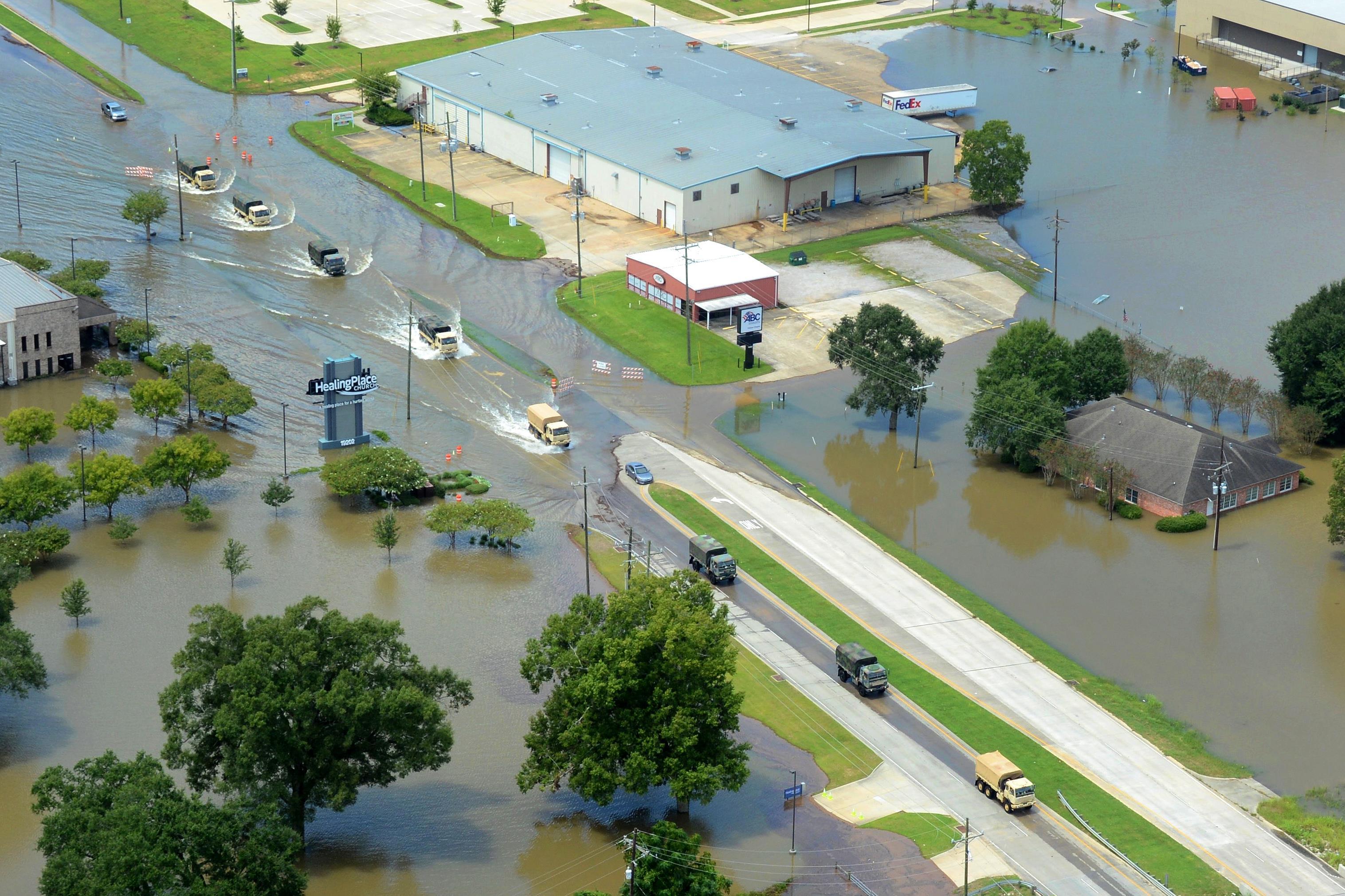 flooding in louisiana essay