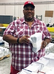 This week's employee spotlight shines on Victor Thomas. He's a material examiner identifier for DLA Distribution Richmond, Virginia.