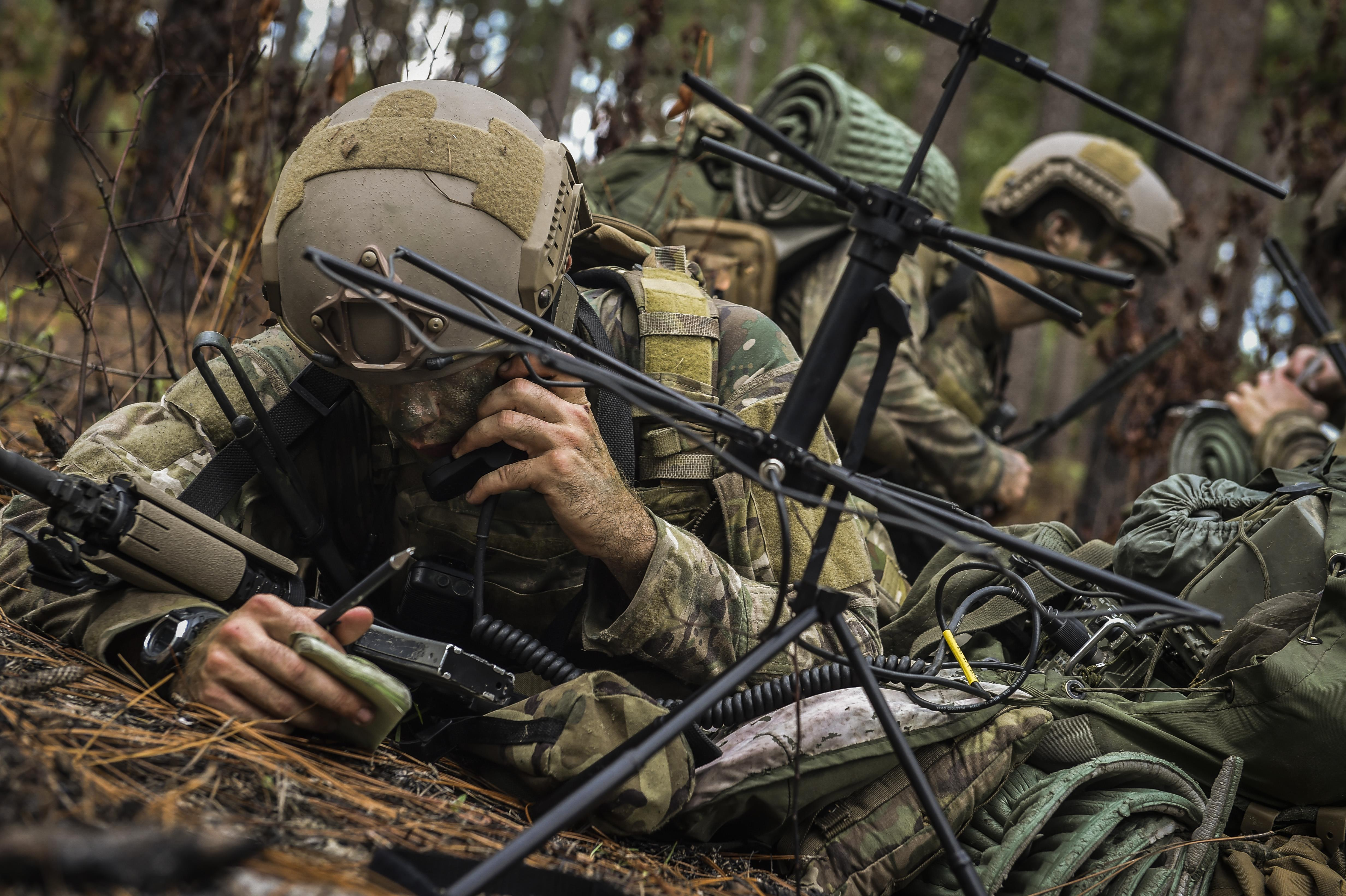 Calm in the chaos: Aspiring combat controllers work under