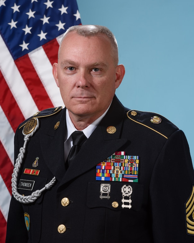 Command Sergeant Major Greg Thomsen