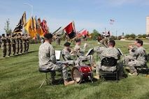 1st Infantry Division Band performing at Wreach Laying Ceremony during Victory Week on June 8, 2016.