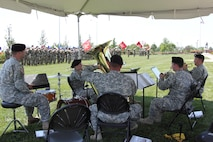 1st Infantry Division Band group photo at Field Artillery Lineage ceremony June 9, 2016 during Victory Week.