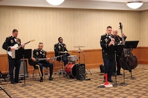1st Infantry Division Band performing at the Victory Dinner event June 9, 2016.
