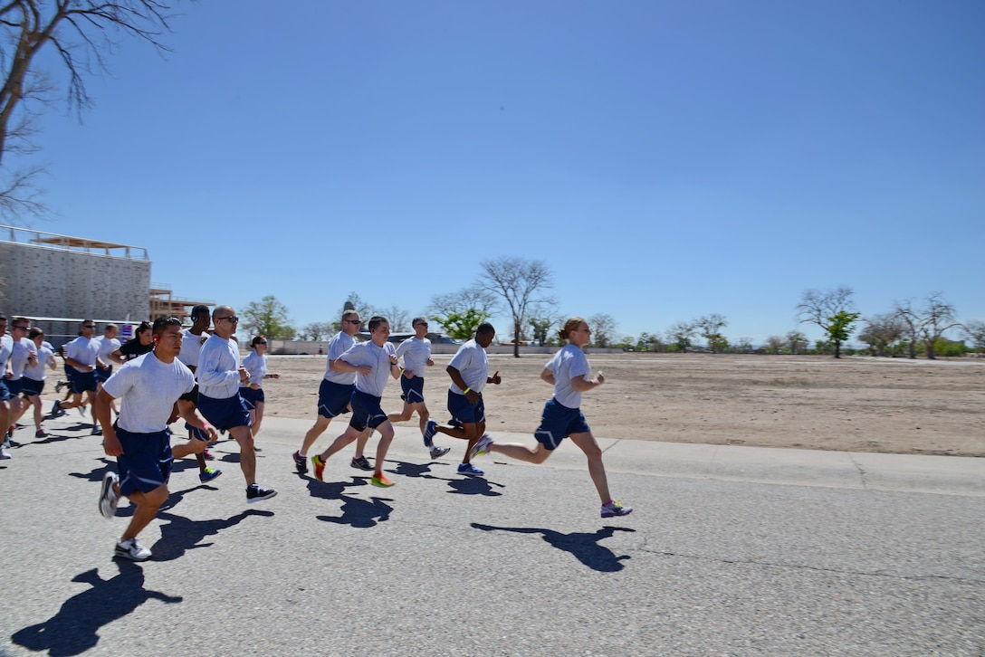 Running is a very popular aerobic activity, and for Airmen, it's a critical component of the physical training test. Because of this, it's important to separate science from non-science regarding run training. (Photo by Jamie Burnett)