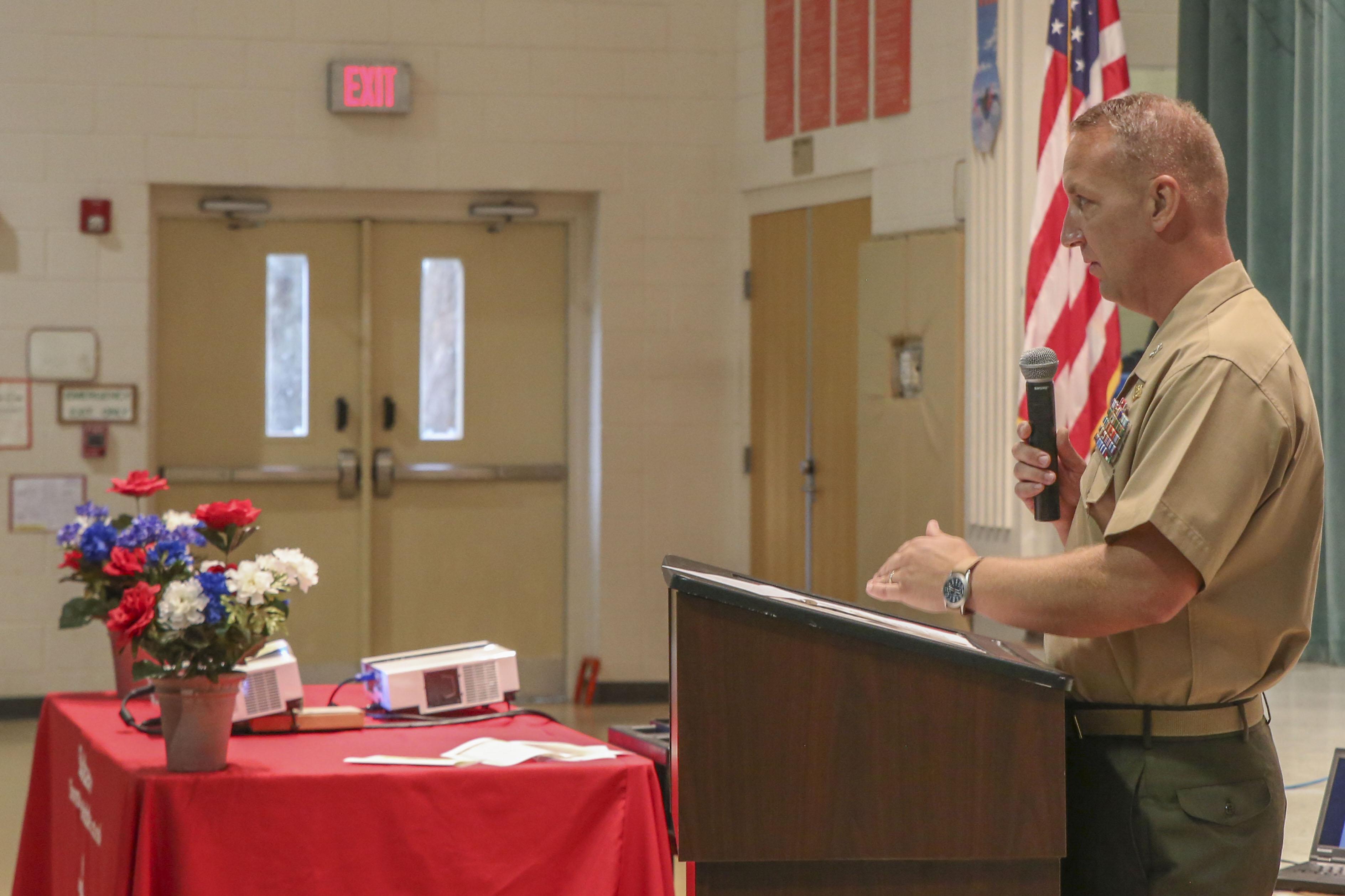 Laurel Bay schools welcome back staff, faculty