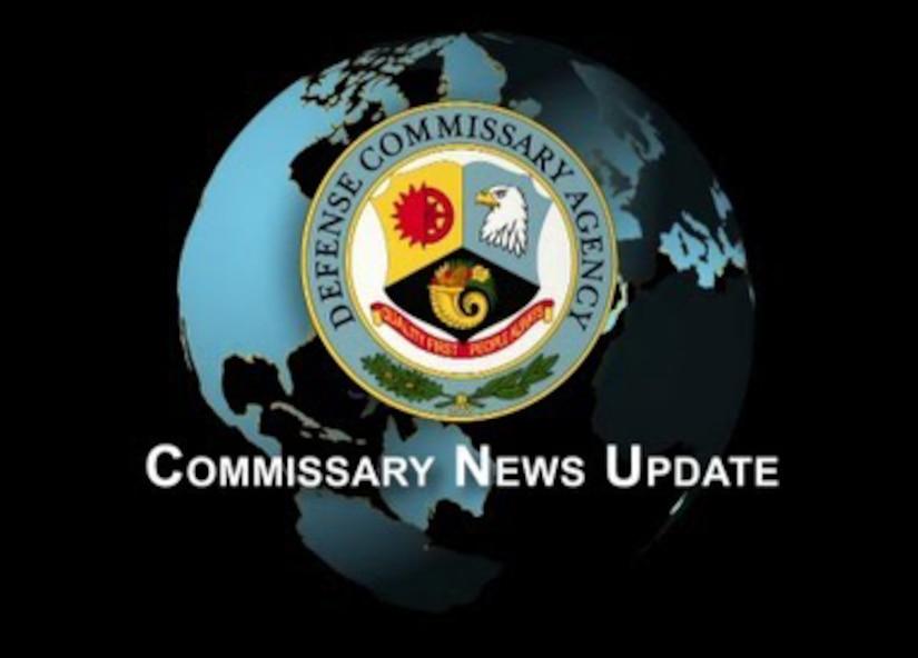 Defense Commissary Agency news update logo