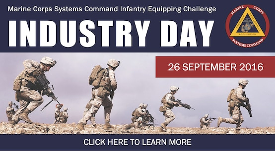 The IEC Industry Day is scheduled for 26 Sep 2016 and will be hosted by the MCSC Commander, BGen Shrader.