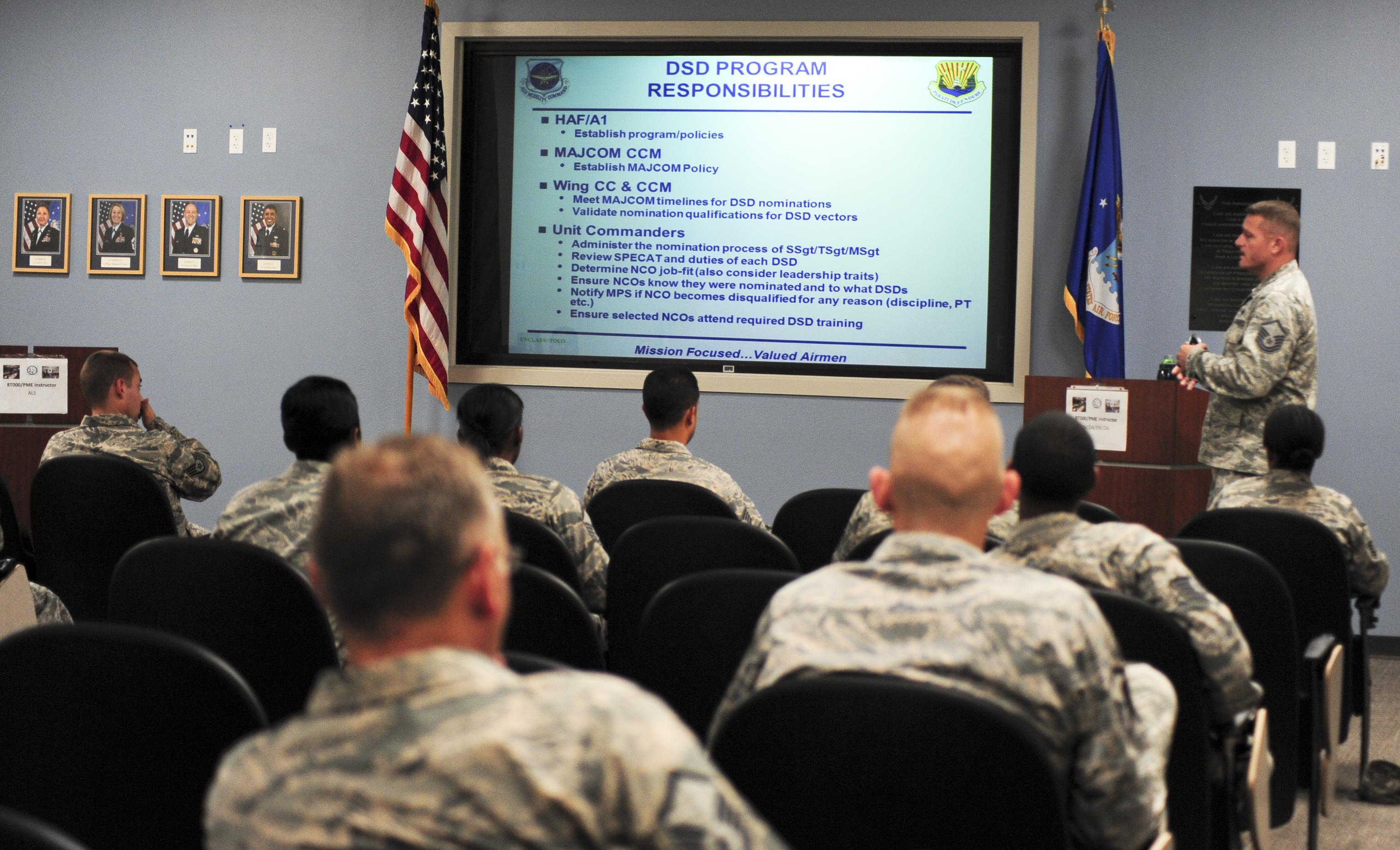 Airmen explore the world of special duties