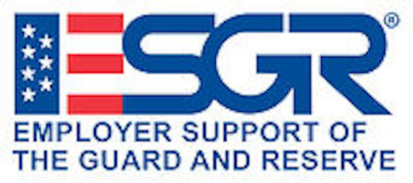 Employer Support of the Guard and Reserve logo. DoD graphic