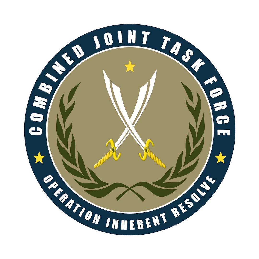Combined Joint Task Force-Operation Inherent Resolve logo. DoD graphic