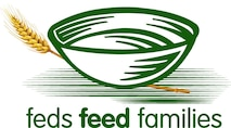 """Deparment of Defense 2016 Feds Feed Families Campaign logo. On June 10, 2016, the U.S. Department of Agriculture kicked off the 8th annual governmentwide Feds Feed Families Food Drive Campaign. The campaign will run through August 31, 2016. The 2016 FFF slogan is """"Feds Fighting Hunger."""" Defense Department employees nationwide have been asked to answer the call to fight hunger."""