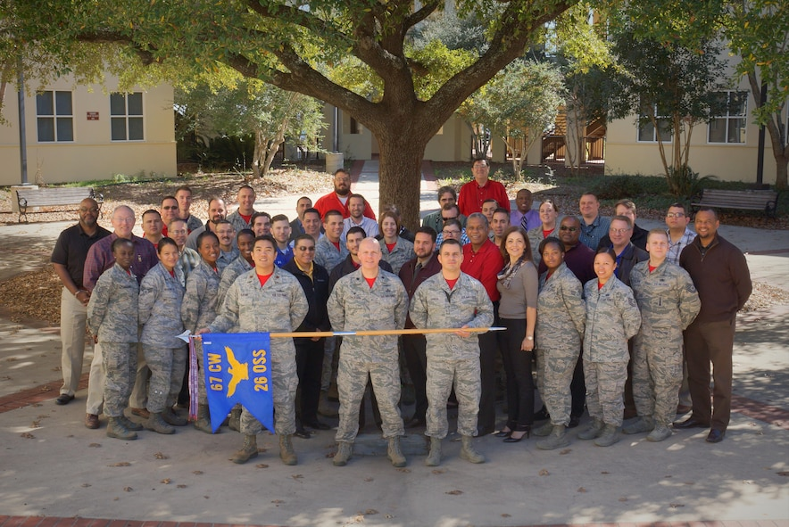 The 26th Operations Support Squadron, 25th Cyberspace Operations Group, 67th Cyberspace Wing, is located at Gunter Annex, Ala.