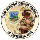 The Team Hanscom Combat Dining In will take place Sept. 16 on base for all active duty, Guard and Reserve personnel. (U.S. graphic by Lance Beebe)