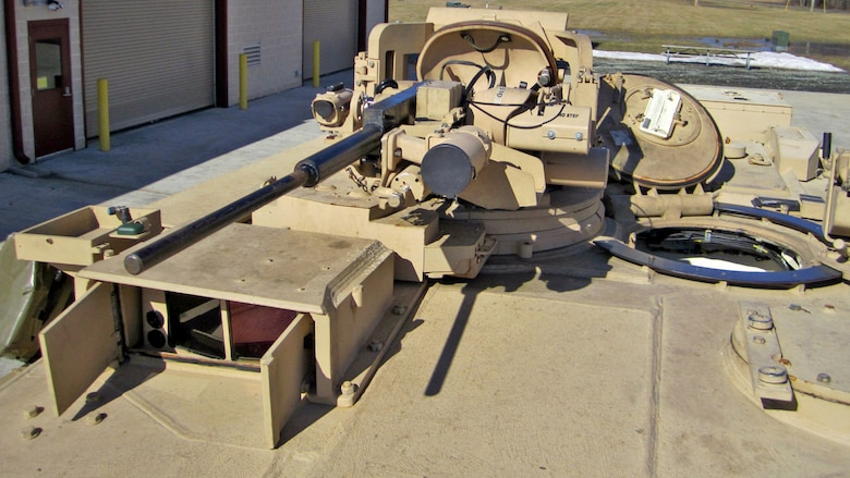 The Abrams Integrated Display and Targeting System upgrades the thermal and day sight on the stabilized commander's weapon station through a state-of-the-art, high definition camera and permanently-mounted color display. The AIDATS program is managed by Armor and Fire Support Systems at Marine Corps Systems Command.