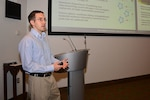 Bradley Steele, a graduate student and summer intern with the DoD High Performance Computing Internship Program