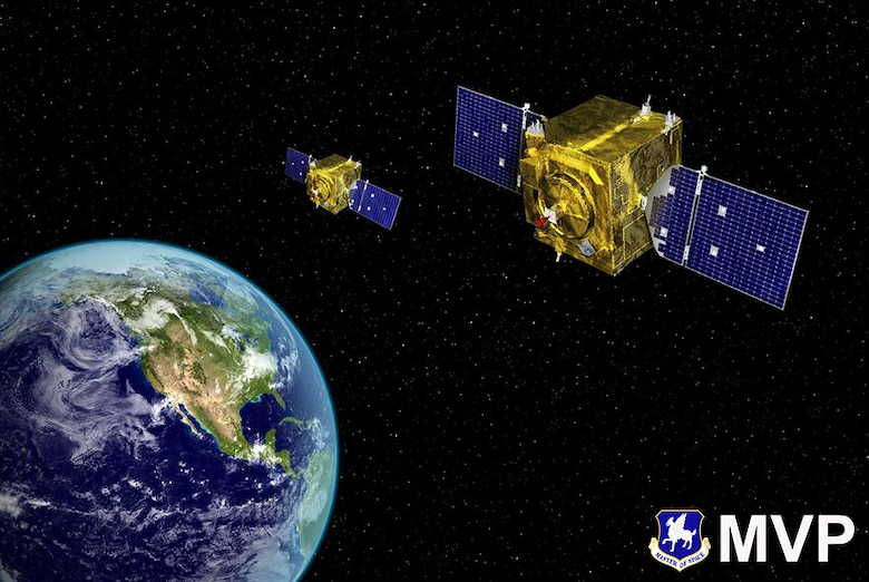 The 1st Space Operations Squadron furthered the 50th Space Wing's mission of commanding space and cyber systems to deliver global combat effects by supporting the Navy's ongoing Mobile User Objective System-5 anomaly effort, planning and executing the mission tasked to them with maximum chance of success. (U.S. Air Force graphic)