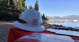 The U.S. Army Corps of Engineers Sacramento District was a participant at the 2015 Lake Tahoe Summit on Aug. 24, 2015, hosting an informational booth and taking a boat tour to learn more about aquatic invasive species. The annual event is open to the public and rotates between California and Nevada. This year's summit was at the Round Hill Pines Resort Beach and Marina, Nevada. As the nation's environmental engineers, the Corps is tasked with restoring degraded ecosystems, constructing sustainable facilities, regulating waterways, managing natural resources and cleaning up contaminated sites from past military activities.