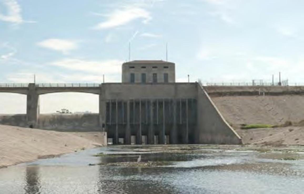 Sepulveda Dam Spillway