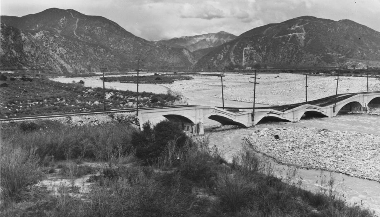 Santa Fe Dam Site, 1939