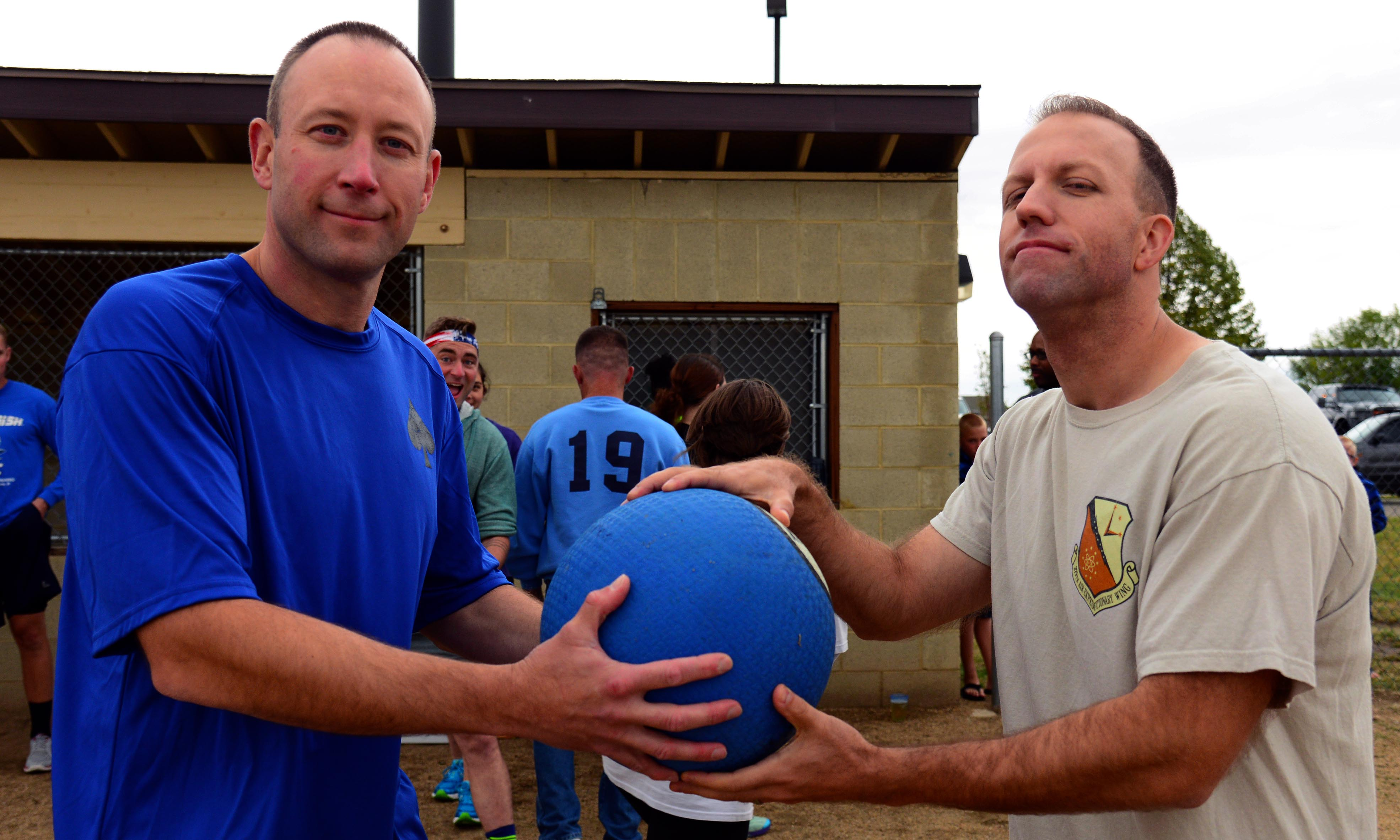Kickball League Encourages Camaraderie Teamwork Malmstrom Air