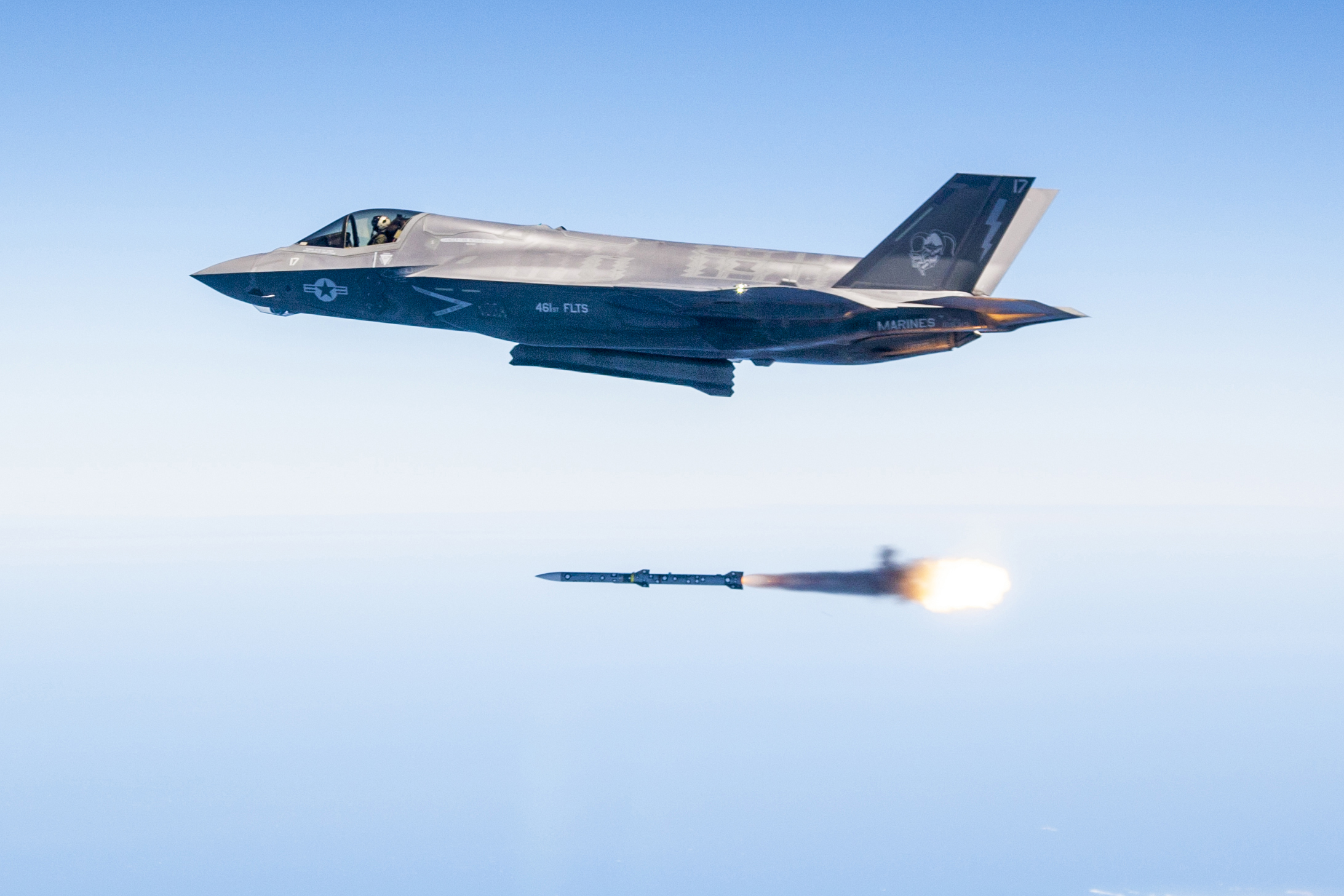 eb64778d4ae9 Douglas Rosenstock fires an AIM-120 missile from an F-35 during. PHOTO  DETAILS   DOWNLOAD HI-RES 1 of 1