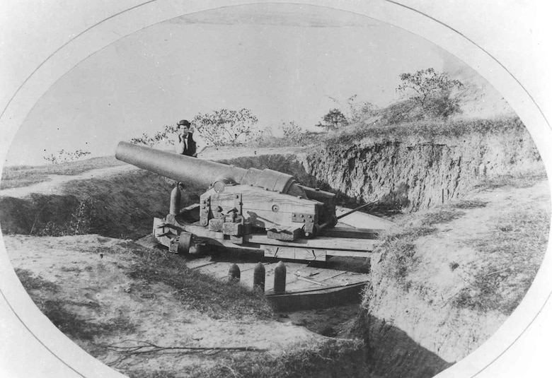 "Powerful and formidable batteries such as this Brooke made Vicksburg ""the Gibraltar of the Confederacy,"" and it would prove a tough nut to crack."
