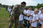 Maryland National Guard helps host military kids at memorable camp