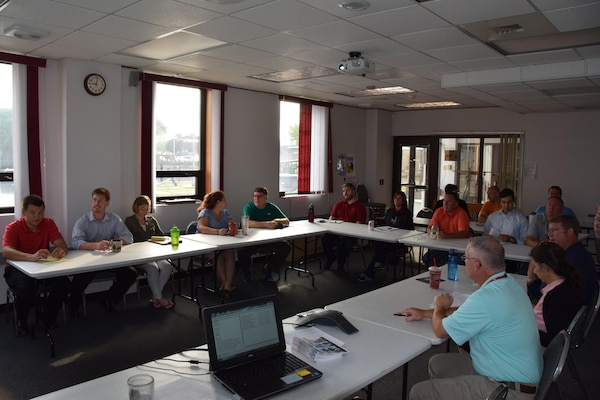 Title: USACE launches annual flood fight team training program