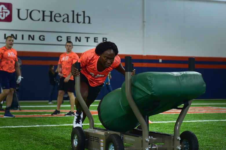 Team Buckley dominates at Broncos military training camp > Buckley
