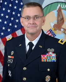 Major General Terry Ferrell photograph. 